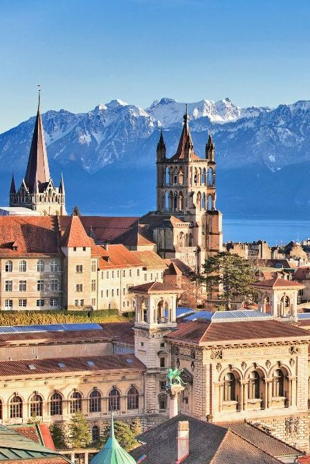 Романдская Швейцария. Сыры и вино
