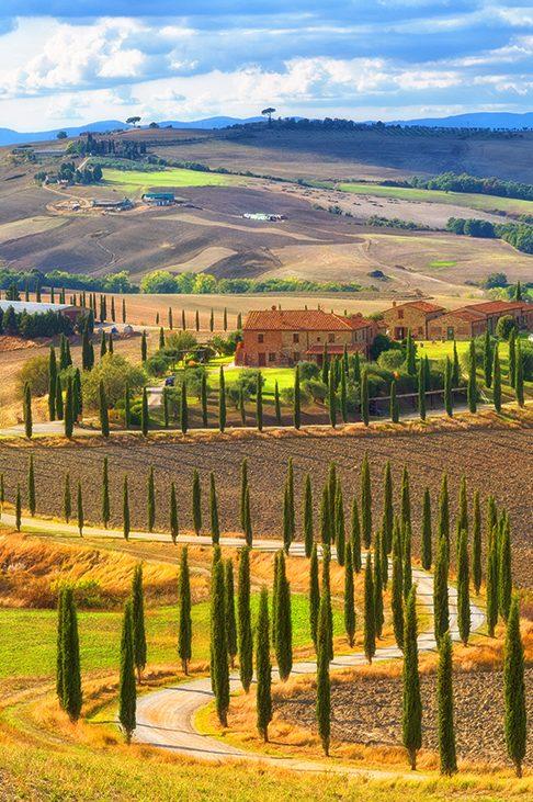 Винными дорогами Тосканы